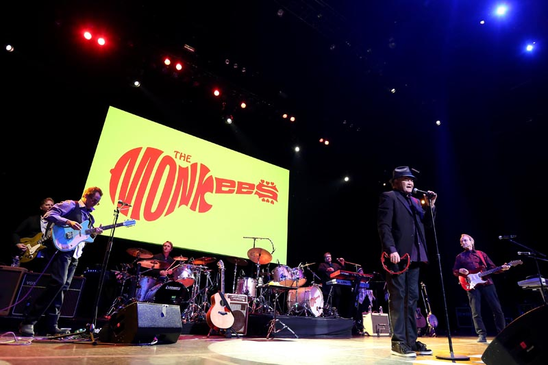 the monkees good times 50th anniversary tour at the venue at horseshoe casino chicago. Black Bedroom Furniture Sets. Home Design Ideas