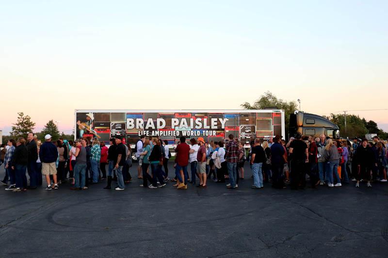 Brad Paisley Tour  September