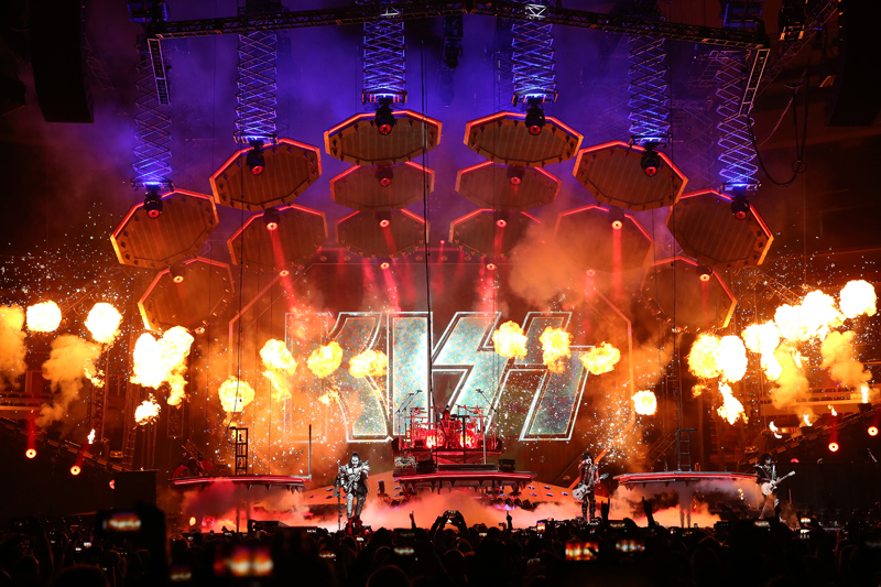 Kiss End Of The Road Tour At United Center Chicago